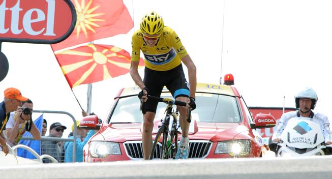 TdF2013 15 etape Ventoux Chris Froome