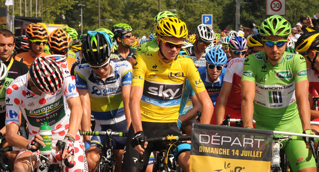 TdF2013 15 etape prestart