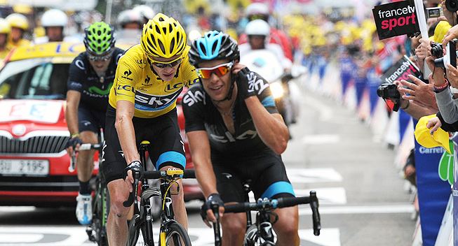 Chris froome quotes quotesgram for Richie porte tour de france