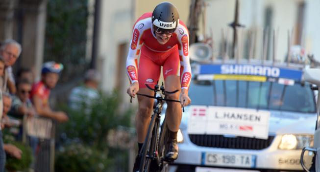 VM 2013 Firenze U23 Herrer TT Lasse Norman Hansen