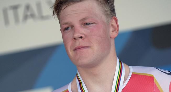 VM 2013 U23 enkeltstart Lasse Norman Hansen podiet