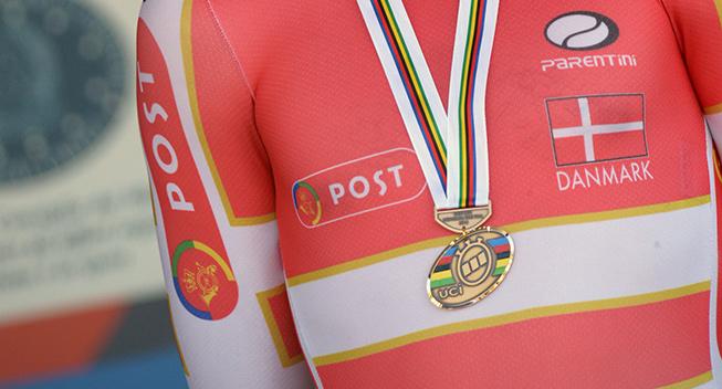 VM 2013 U23 enkeltstart Lasse Norman Hansen podiet medalje