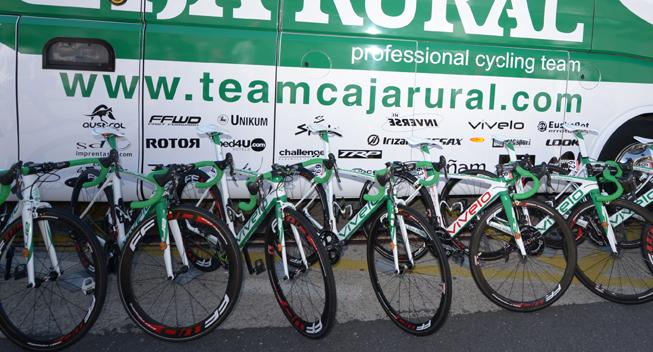 Vuelta 2013 3 etape Caja Rural cykler