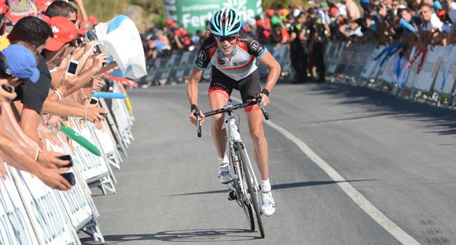 Vuelta 2013 3 etape Chris Horner angreb