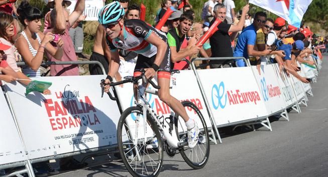 Vuelta 2013 3 etape Chris Horner angriber