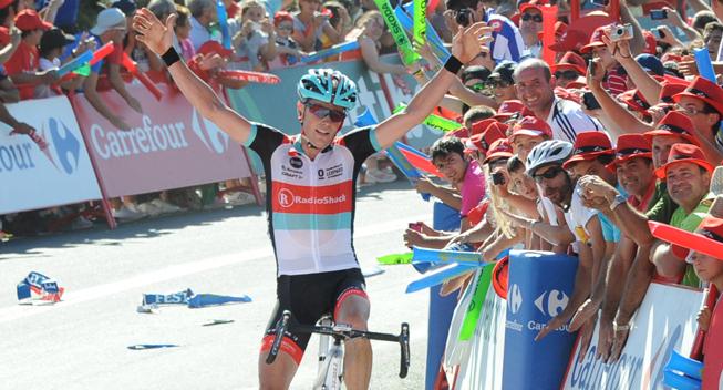 Vuelta 2013 3 etape Chris Horner sejr