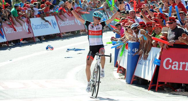 Vuelta 2013 3 etape Chris Horner vinder