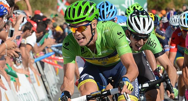 Vuelta 2013 3 etape Nicolas Roche
