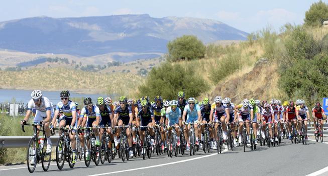 Mandefald i Vueltaen  seks ude, to disket