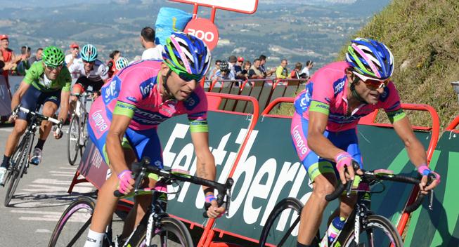 Scarponi leder an i Lampres Lombardia-ambitioner