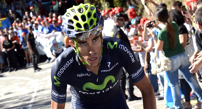 Photo: Jose Herrada is known as one of the most loyal domestiques in the Movistar camp.