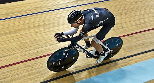 Photo: Whether I will once again make an Hour Record Attempt? Maybe next year. With a little extra preparation, I can target 45 kph.