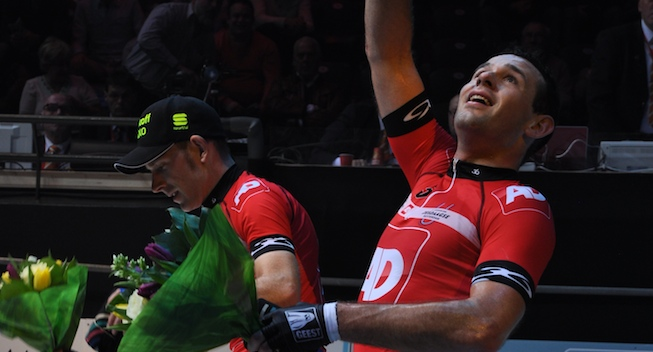 Photo: That took a lot of power, but it's finally over, exhausted Kalz said after winning the race.