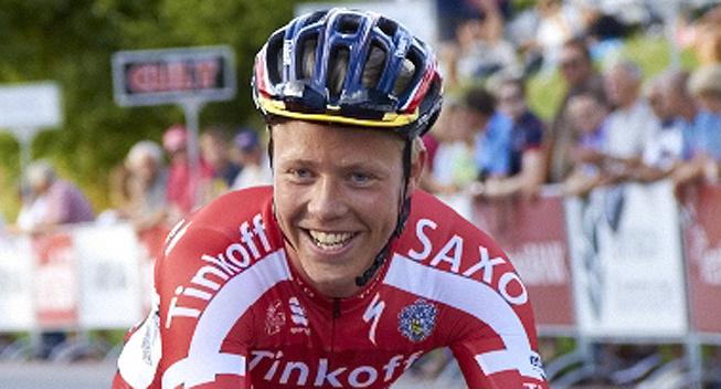 Michael Valgren (Tinkoff-Saxo) Photo: � Tinkoff-Saxo.