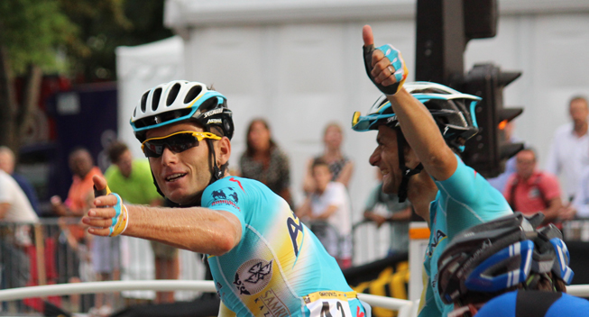 Thumbnail: Andriy Grivko is known as one of the most aggressive riders in the peloton.