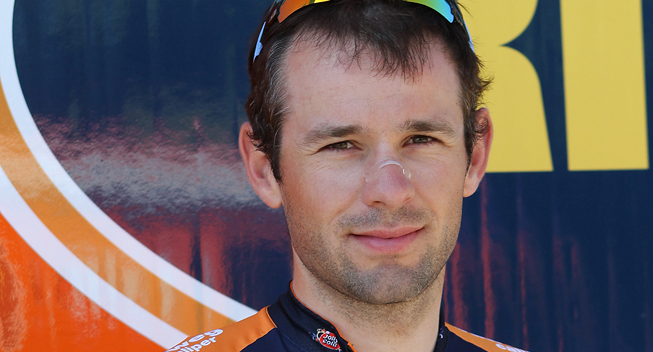 Photo: I think it is possible to beat Jens Voigt. What he did was really impressive but he is no born track rider.