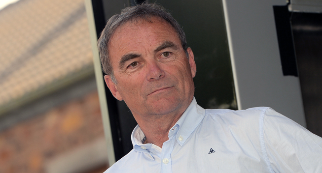 Photo: Hinault thinks cycling should comprise of a first, second and third division, like they have in football and allow the organisers themselves more freedom in deciding on who participates in their races.