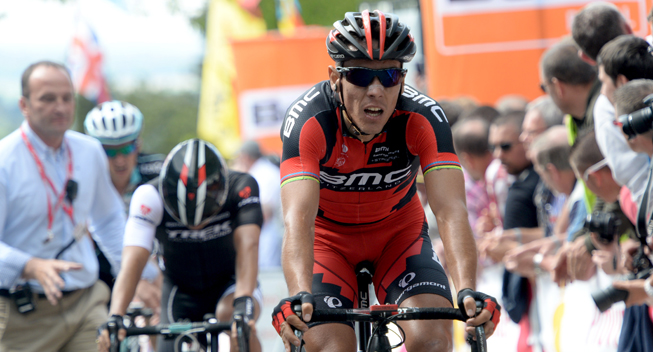 Photo: Past world road champion Philippe Gilbert headlines the BMC Racing Team's five-man roster and stagiaires Luke Davison and Loic Vliegen make their debut in Sunday's Prudential RideLondon-Surrey Classic...