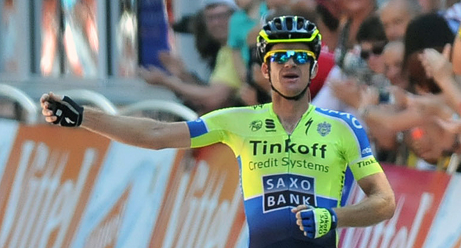 Photo: We're starting to get that roll going on [at Tinkoff-Saxo] as well. Now the challenge is that we keep together until the end of the season so we're not starting from scratch in 2015.