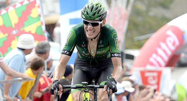 Photo: Rolland soloed clear to win the Vuelta a Castilla y Leon queen stage and take the overall victory.