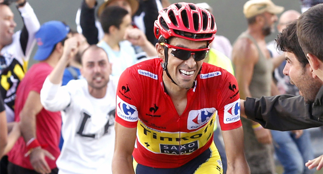 "Photo: He is very young and he will continue to get better,"" Contador said of Quintana. ""Perhaps Froome has a point in his favour in the time trial, he is very strong in that discipline."