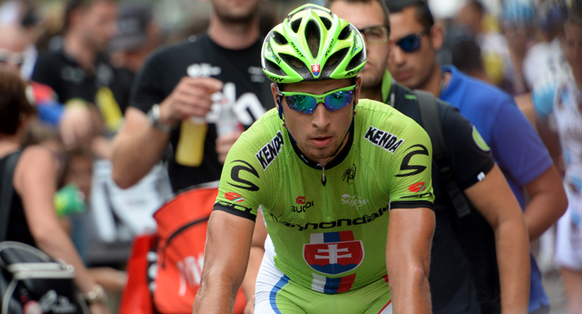 Photo: Ciclismo Internacional reports that Peter Sagan won't start his season in Argentina as he has done in 2013 and 2014...