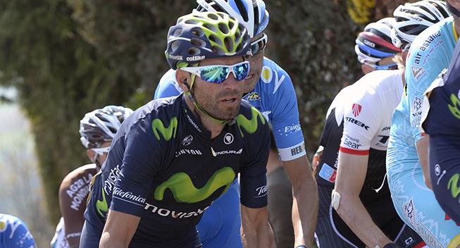 Amstel Gold Race 2015 Alejandro Valverde i feltet