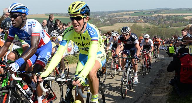 Amstel Gold Race 2015 Chris Anker Sorensen i feltet