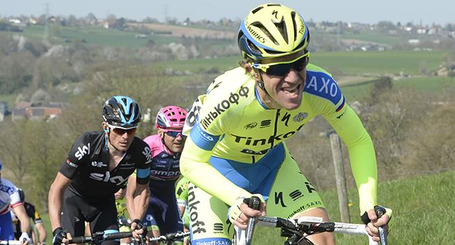 Amstel Gold Race 2015 Chris Anker Sorensen i feltet  1