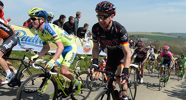 Amstel Gold Race 2015 Fabian Wegmann i feltet