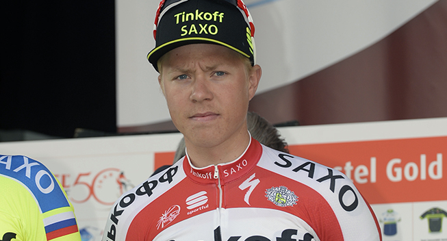 Amstel Gold Race 2015 Michael Valgren presentation