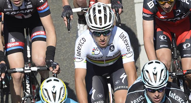 Amstel Gold Race 2015 Michal Kwiatkowski i feltet
