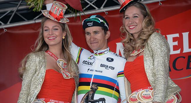 Amstel Gold Race 2015 Michal Kwiatkowski podiet
