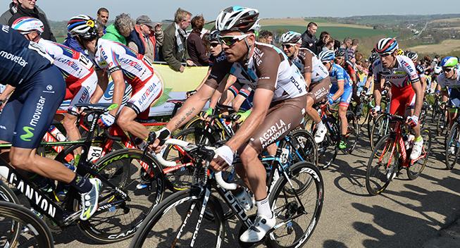 Amstel Gold Race 2015 Rinaldo Nocentini i feltet