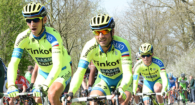Amstel Gold Race 2015 Roman Kreuziger og Manuele Boaro