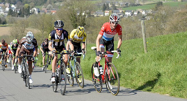 Amstel Gold Race 2015 Serge pauwels og Frank Schleck