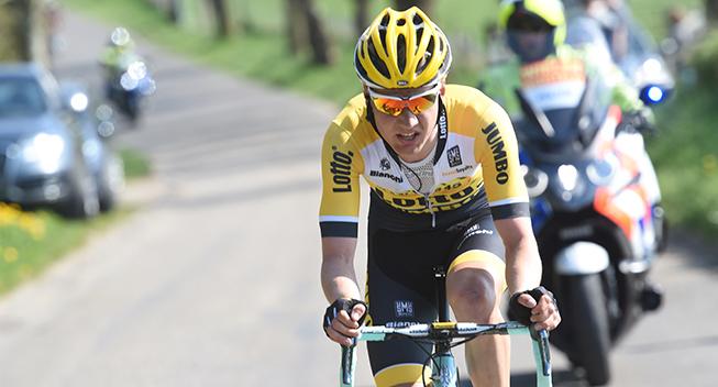 Amstel Gold Race 2015 Wilko Kelderman angreb