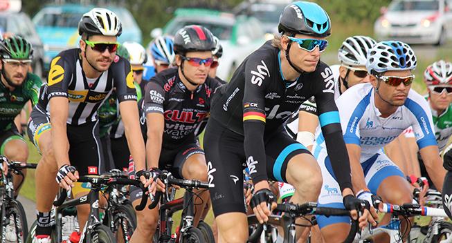 PDR2015 2 etape Christian Knees og Linus Gerdemann i feltet