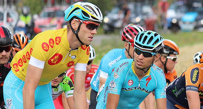 PDR2015 2 etape Lars Boom i gult