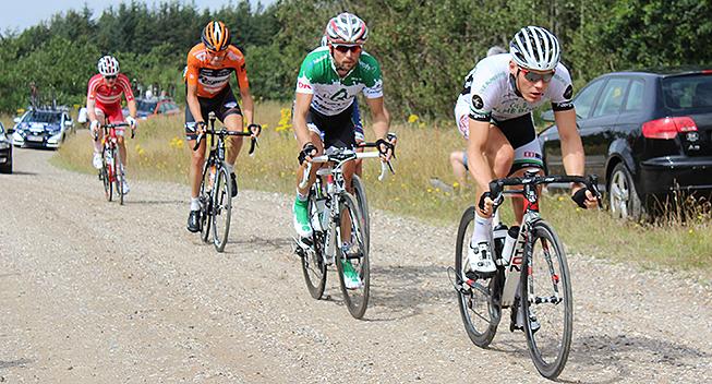 PDR2015 2 etape udbrud Mathias Dam Westergaard - Brian Goethem - Jesper Odgaard og Mathias Krigbaum