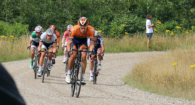 PDR2015 2 etape udbrud Nikola Aistrup i front