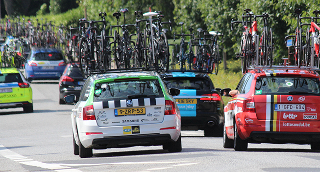 UCI annoncerer nye sikkerhedsregler for køretøjer