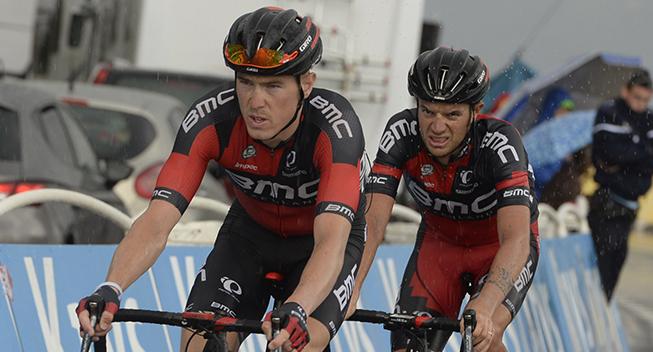 Dennis varmer op til Giroen i Alperne
