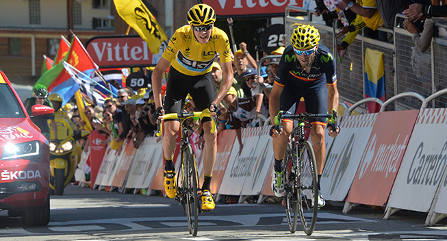 Froome: Valverde kan vinde Touren