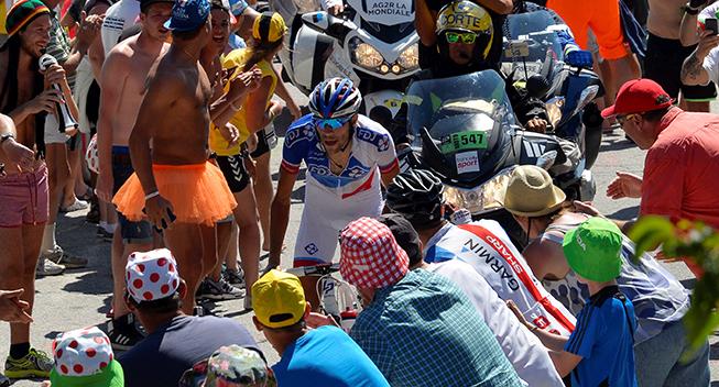 Critérium du Dauphiné vender tilbage til Alpe d'Huez