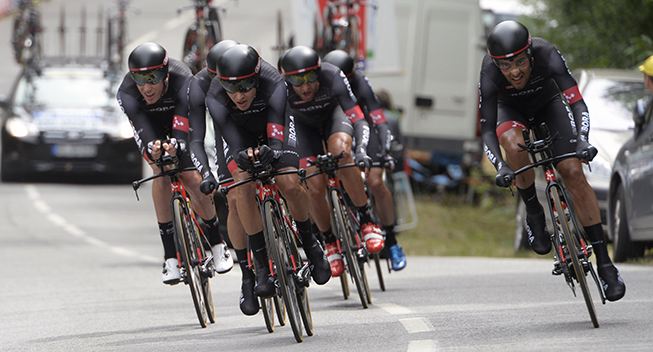 Thumbnail Credit (cyclingquotes.com): Bora - Argon 18 paved the way with a strong lead out for the young Bauhaus