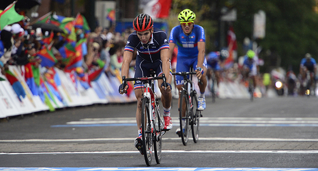 Ung Cofidis-rytter tog første sejr som professionel