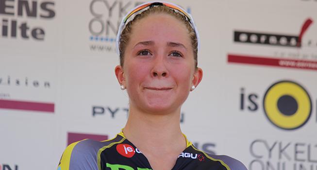 DM2016 Dame Elite ITT Cecilie Uttrup podiet
