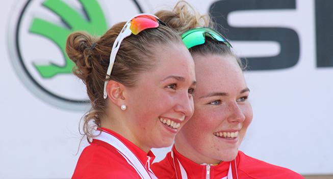 DM2016 Dame Elite og Junior ITT Cecilie Uttrup og Simone Eg