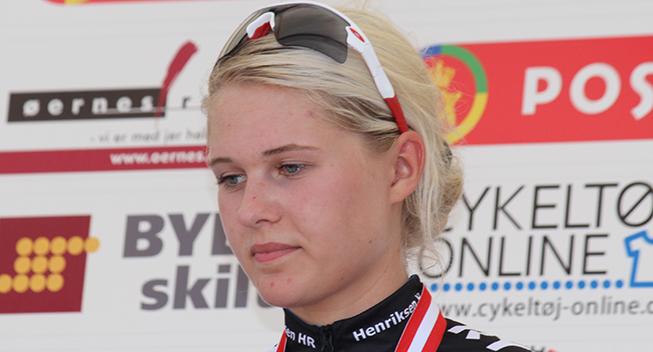 DM2016 Dame Junior ITT Silje Alsbjerg podiet